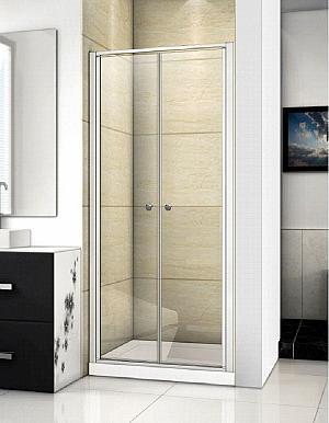 Aquatek FAMILY B02 85 - sprchové dvere 81-85 cm - číre sklo