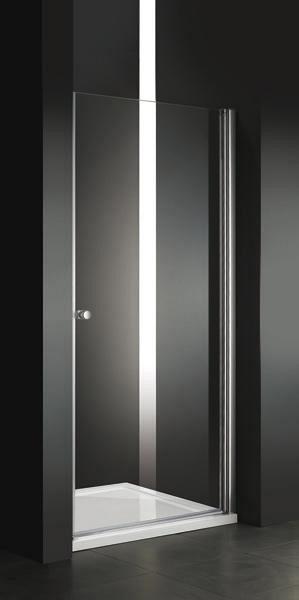 Aquatek Glass B1 - sprchové dvere 76 - 80 x 195