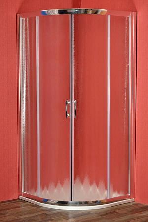 Arttec - BRILIANT 80 chinchila NEW - sprchový kút štvrťkruhový