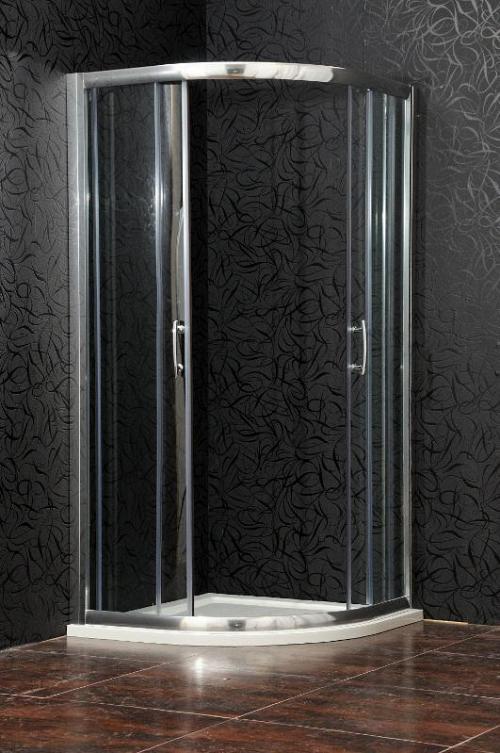 Arttec - BRILIANT 80 clear NEW - sprchový kút štvrťkruhový