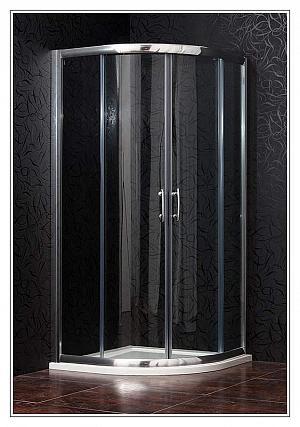 Arttec - BRILIANT 90 clear NEW - sprchový kút štvrťkruhový