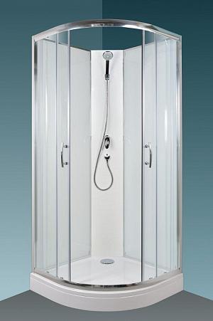 Arttec BRILIANT - sprchový box model 1 chinchila