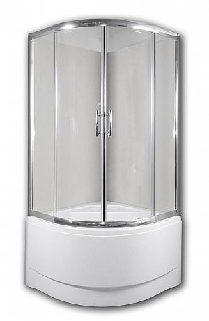 Arttec CALYPSO 90 - sprchový kút s vysokou vaničkou