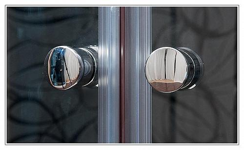 Arttec - KLASIK 80x100 clear NEW - sprchová zástena štvrťkruhová