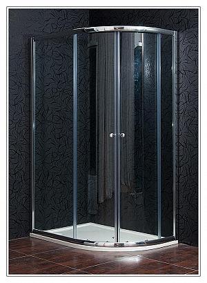 Arttec - KLASIK 80x120 clear NEW - sprchová zástena štvrťkruhová