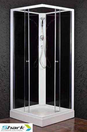 Arttec - KODIAK 80 STONE - sprchový box s vaničkou z liateho mramoru (PAN01049)