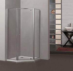 Arttec - PENTA 90 clear - sprchová zástena päťhran