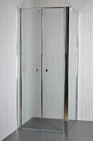 Arttec - SALOON A5 - sprchový kút - 90 - 95 x 86,5 - 88 x 195 cm