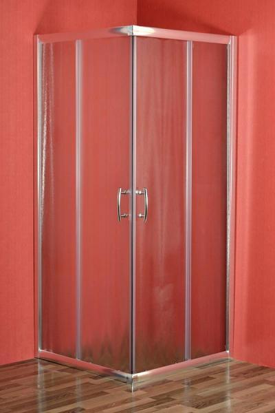 Arttec - SMARAGD 80 chinchila NEW - sprchová zástena štvorcová
