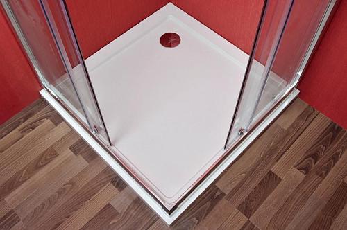 Arttec - SMARAGD 90 clear NEW s vaničkou STONE