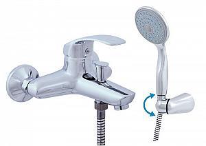 BERMUDA - batérie vaňová so sprchou a otočným držiakom 100 mm