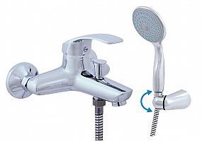BERMUDA - batérie vaňová so sprchou a otočným držiakom 150 mm
