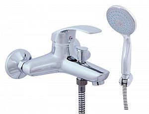 BERMUDA - batérie vaňová so sprchou a pevným držiakom 150 mm