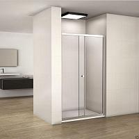 Besco DUO SLIDE 110 - posuvné sprchové dvere 108-112cm