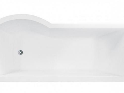 Besco INSPIRO 160 P - vaňa s vaňovou zástenou 150x70 cm