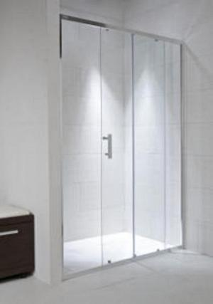 CUBITO PURE 100 - posuvné sprchové dvere s arctic sklom
