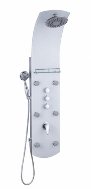 Eisl KARIBIK WHITE - sklenený sprchový panel