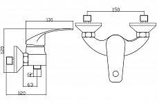 EISL sprchová batéria RIMINI (NI168RICR)