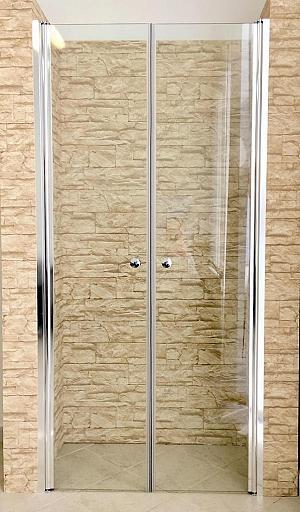 Hopa Vitoria PLUS 90 - dvojkrídlové sprchové dvere 90x91 cm