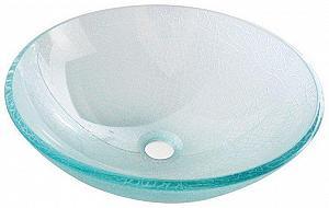 ICE - sklenené umývadlo priemer 42cm