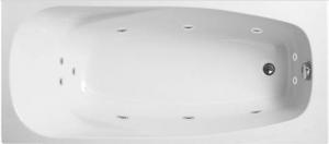 KLÁRA 160x75 HYDRO - hydromasážna vaňa