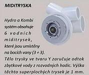 KLÁRA 160x75 HYDRO pneu - hydromasážna vaňa