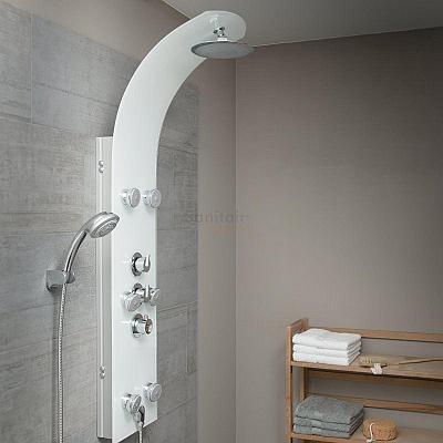 LANZAROTE Glas  - sprchový panel