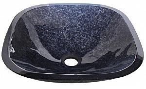 MAGIC - sklenené umývadlo štvorcové 42x42cm