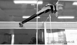 Mereo FANTASY 100 - jednokrídlové sprchové dvere 100x190cm