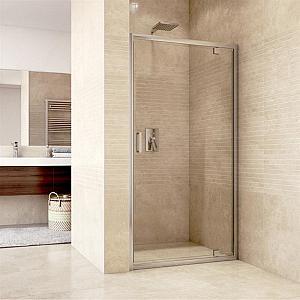 Mereo - MISTICA 100 - pivotové sprchové dvere číre sklo (CK80933H)