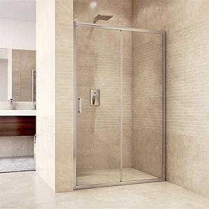 Mereo MISTICA 120 - posuvné sprchové dvere 118-122 cm - číre sklo