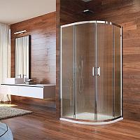 Mso Trade LIMA 80x80 - štvrťkruhový sprchový kút - point sklo