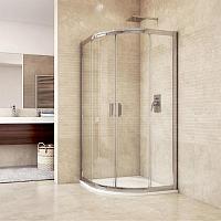 Mso Trade MISTICA 100x100 - štvrťkruhový sprchový kút