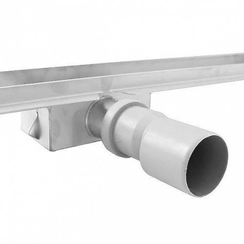 Nerezový odtokový žľab s roštom 800x110mm vč. sifónu