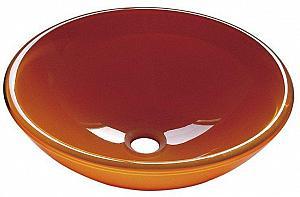 ORANGE  - sklenené umývadlo priemer 42 cm