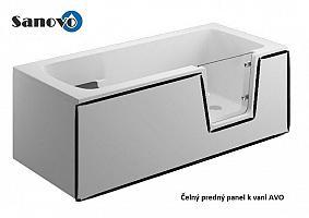 Polimat AVO - predný čelný panel k bezbariérovej vani 140x54 cm (00304)