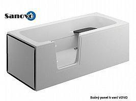 Polimat VOVO - bočný panel k bezbariérovej vani 75x58 cm (000891)