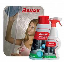 RAVAK Duo set Cleaner 500 ml + AntiCalc condiotioner 300 ml