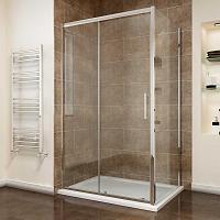Sanovo DELIVERY KOMBI - obdĺžnikový sprchový kút 110x80 cm