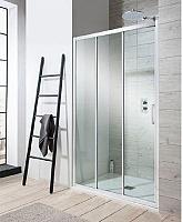 Sanovo LIMBA 90 - posuvné sprchové dvere trojdielne 88-90 cm - sklo point
