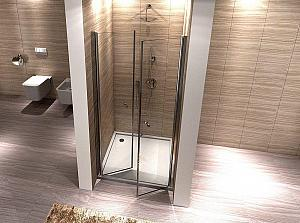 Sanovo Pacific 90 - dvojkrídlové sprchové dvere 86-90cm