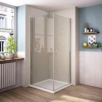 Sanovo PERFECT DUET 90 - štvorcový sprchový kút 90x90x190 cm