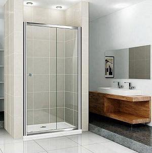 Sanovo REALISE 120 - posuvné sprchové dvere 116-120 cm - číre sklo