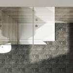 Sanovo SINGLE 110 - sprchová walk in zástena 110x200 cm