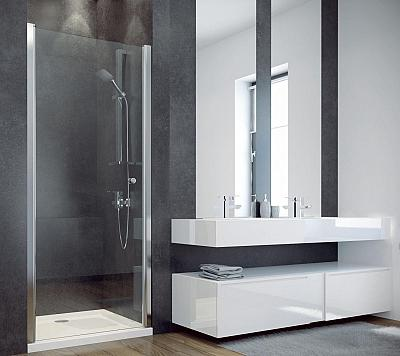 SANOVO T1 90 - sprchové dvere 86-90 cm