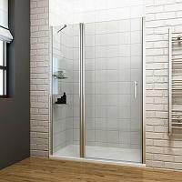 Sanovo T1 PLUS 100 - jednokrídlové sprchové dvere 97-102x190 cm
