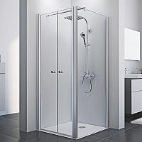 Sanovo T2 KOMBI 80x80 - štvorcový sprchový kút 80x80x190 cm