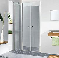 Sanovo T3 85 - dvojkrídlové sprchové dvere s PBD-20 82-87 cm