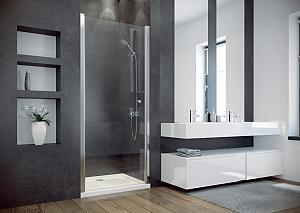 SINCO 80 - sprchové dvere jednodielne 76-80 cm