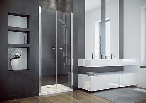 SINCO DUO 90 - sprchové dvere dvojdielne 86-90 cm